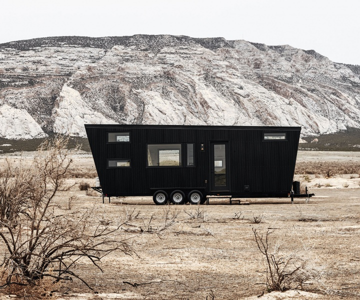 The Crisp Modernism of Land Ark RV's Home on Wheels