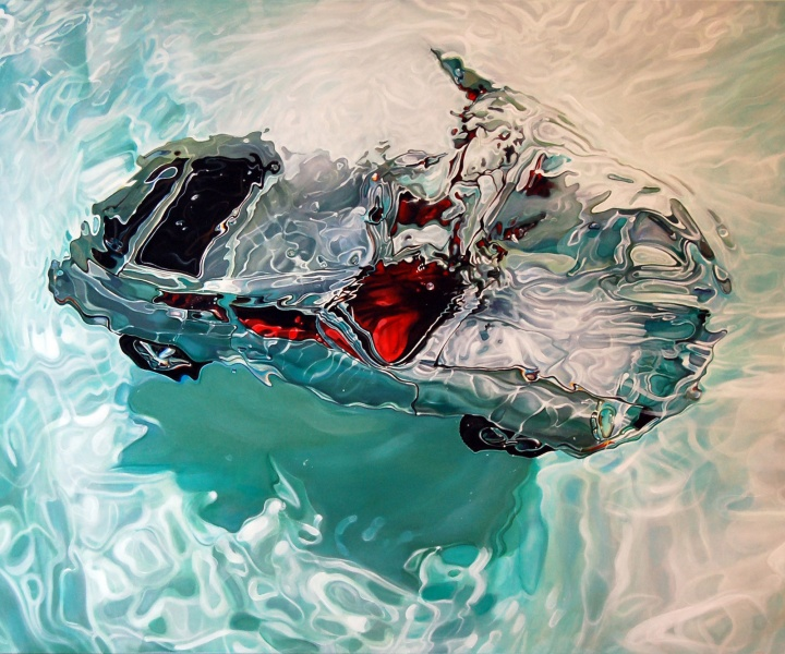 Dive or Drive: Hyperrealistic Paintings of Vintage Cars by Marcello Petisci