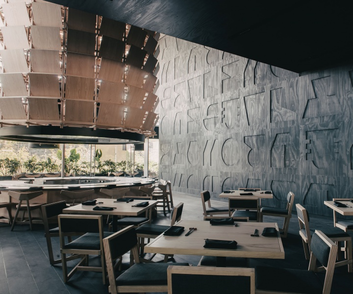 Esrawe Studio Finds Inspiration in Samurai Armours for a Japanese Restaurant in Mexico City