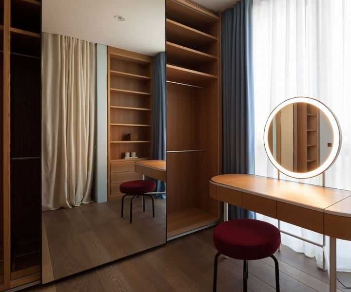 Opulence and Restraint Inside an Apartment in Moscow by Form Bureau