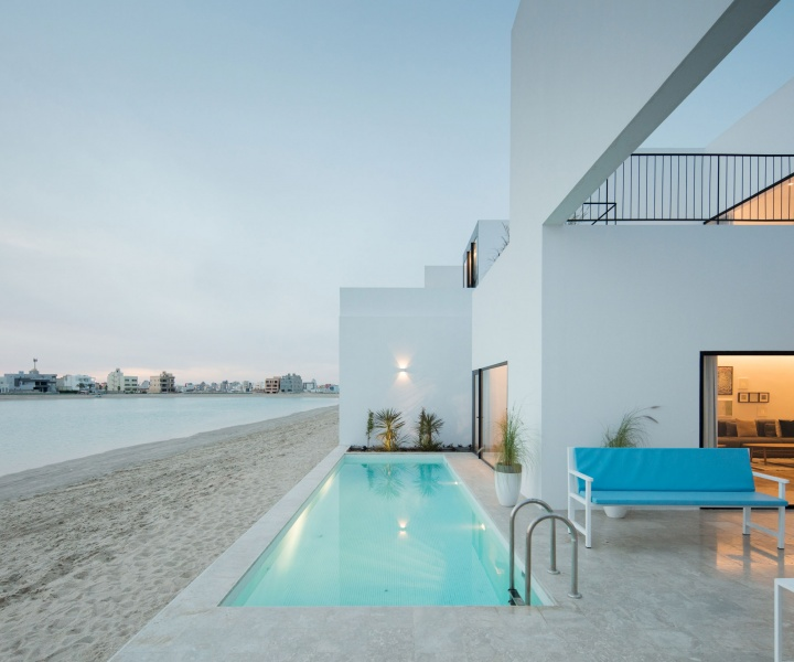 Modern Minimalism Meets Cubist Complexity in Kuwaiti Residences