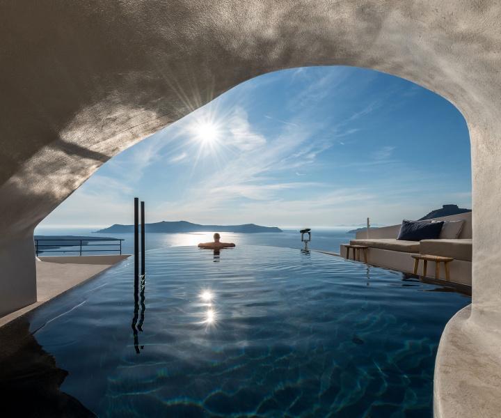 A Slice of Heaven: Interior Design Laboratorium Renovates Porto Fira Suites on Santorini