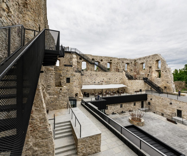 Haapsalu Castle in Estonia Celebrates its Medieval Heritage with Modern Intervention