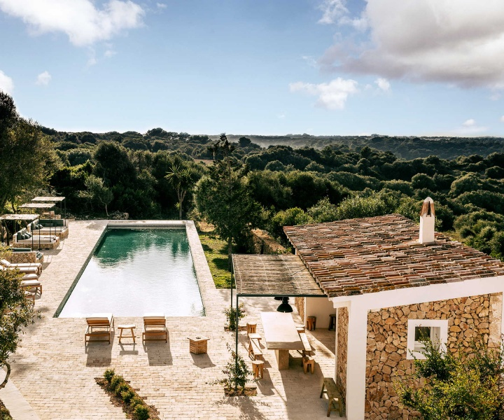 Es Bec d'Aguila: A Rural Retreat in Menorca Revels in Cosmopolitan Elegance
