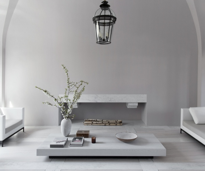 A Parisian Residence Revels in Poetic Minimalism and Monochromatic Serenity