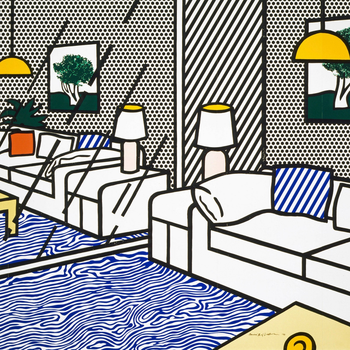 Pop For The People Roy Lichtenstein In L A Yatzeragenda