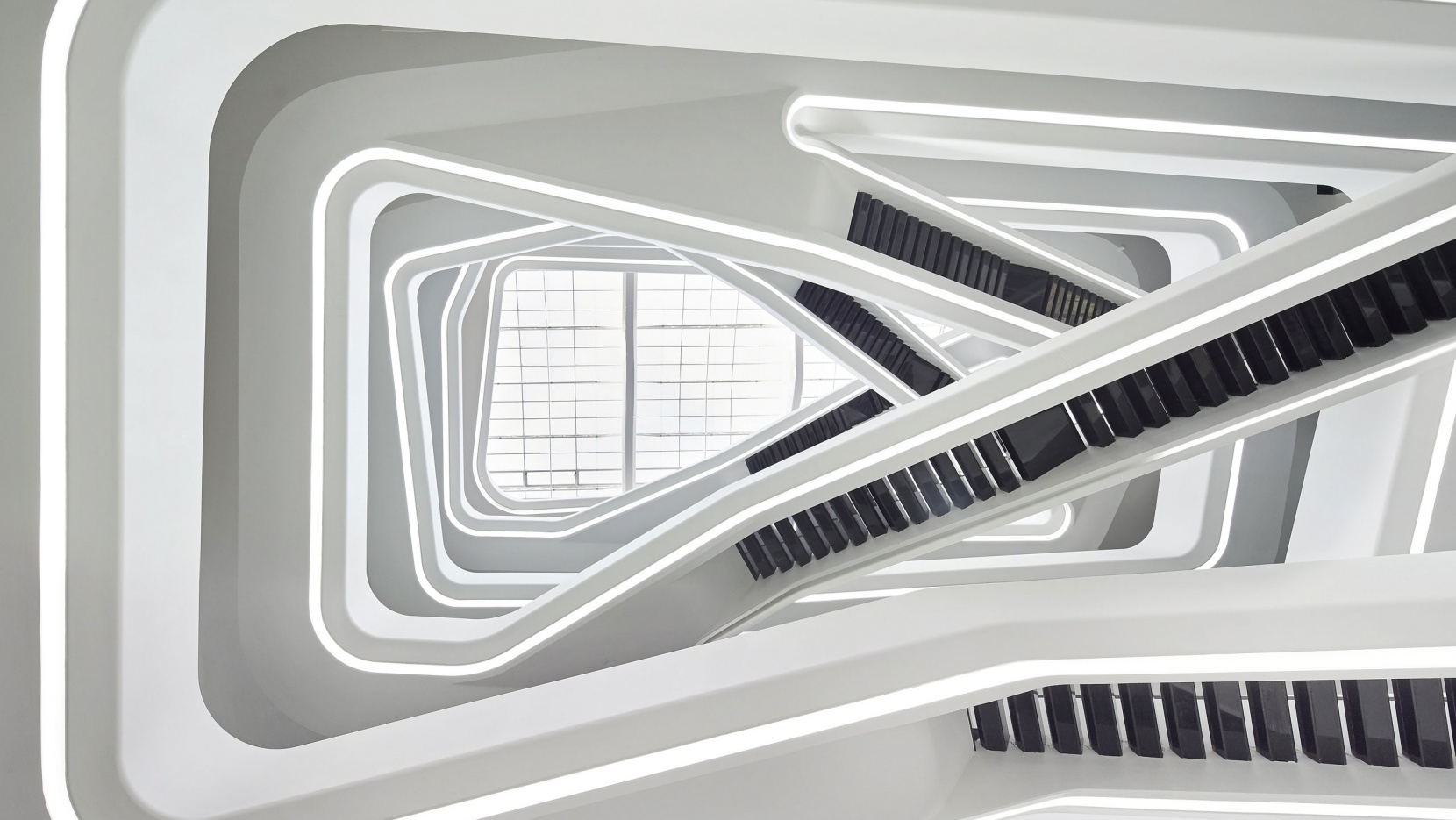 dominion office building in moscow russia by zaha hadid. Black Bedroom Furniture Sets. Home Design Ideas