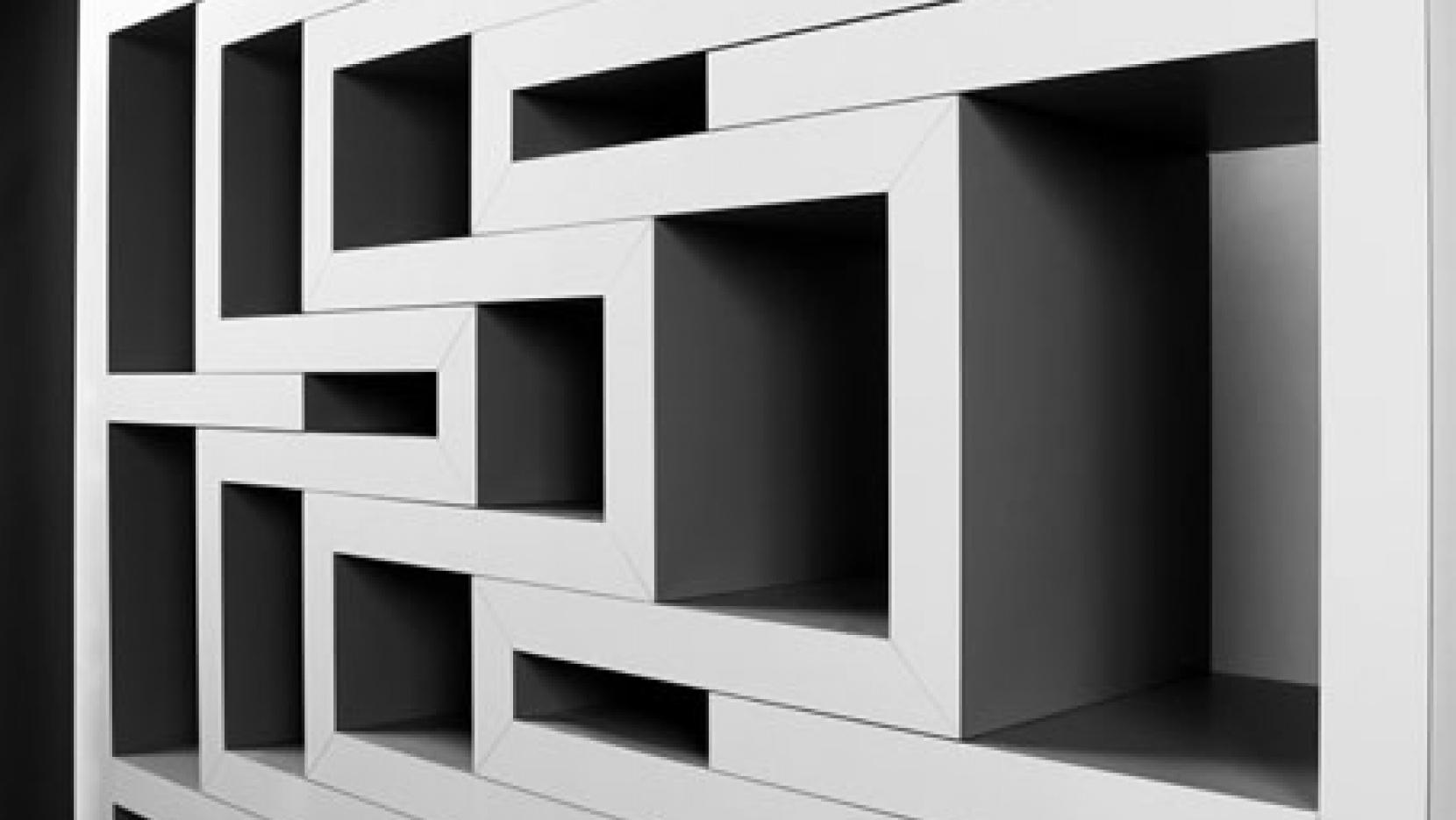 rek bookcase by reinier de jong  yatzer -