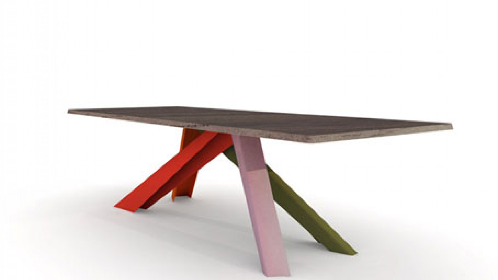 The big table by alain gilles yatzer for Tischbeine design