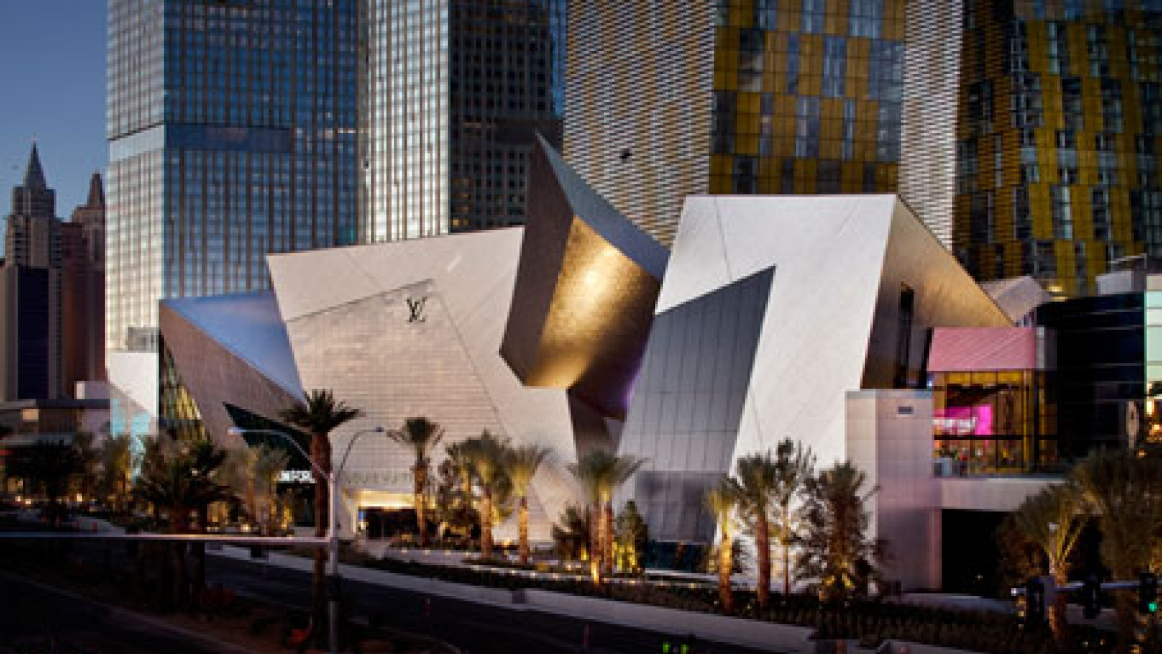 Crystals By Daniel Libeskind For Mgm Mirage City Center