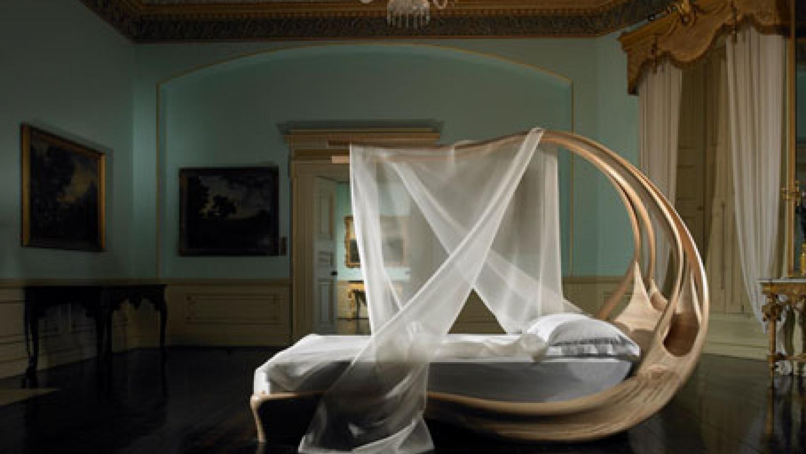 Enignum Canopy Bed by Joseph Walsh  Yatzer
