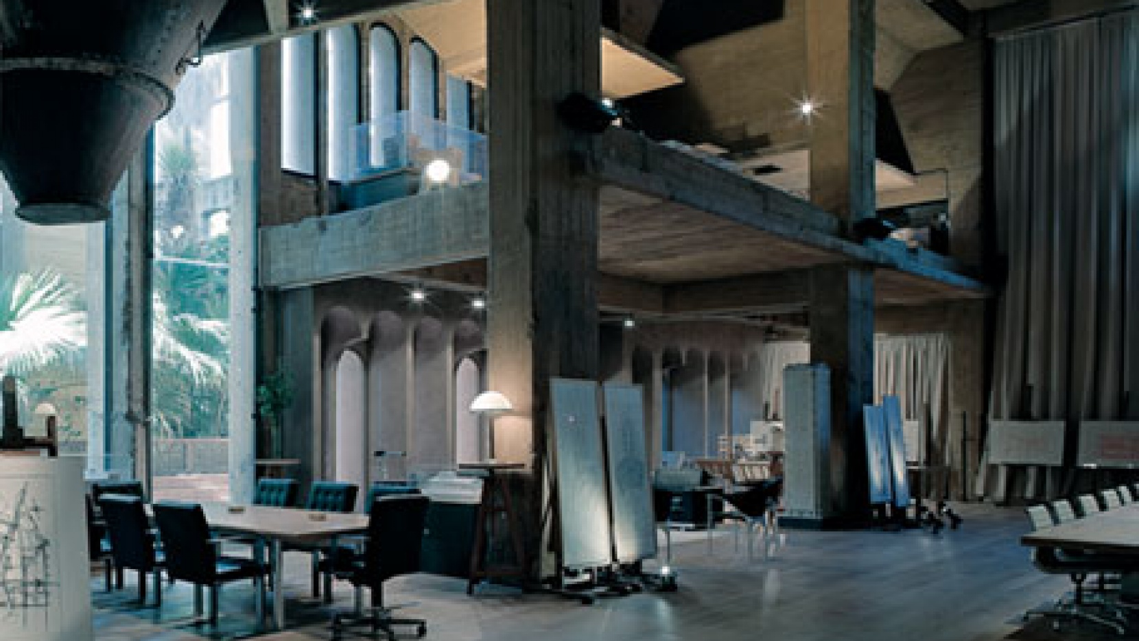 a former cement factory is now the workspace and residence of ricardo bofill yatzer. Black Bedroom Furniture Sets. Home Design Ideas