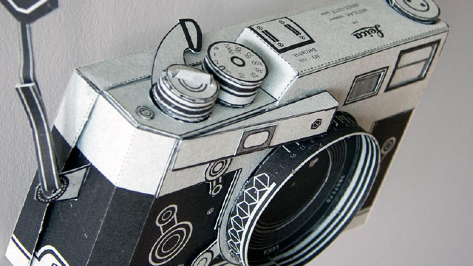 image regarding Camera Printable titled Printable Lie-ca M3 digicam through Matthew Nicholson Yatzer