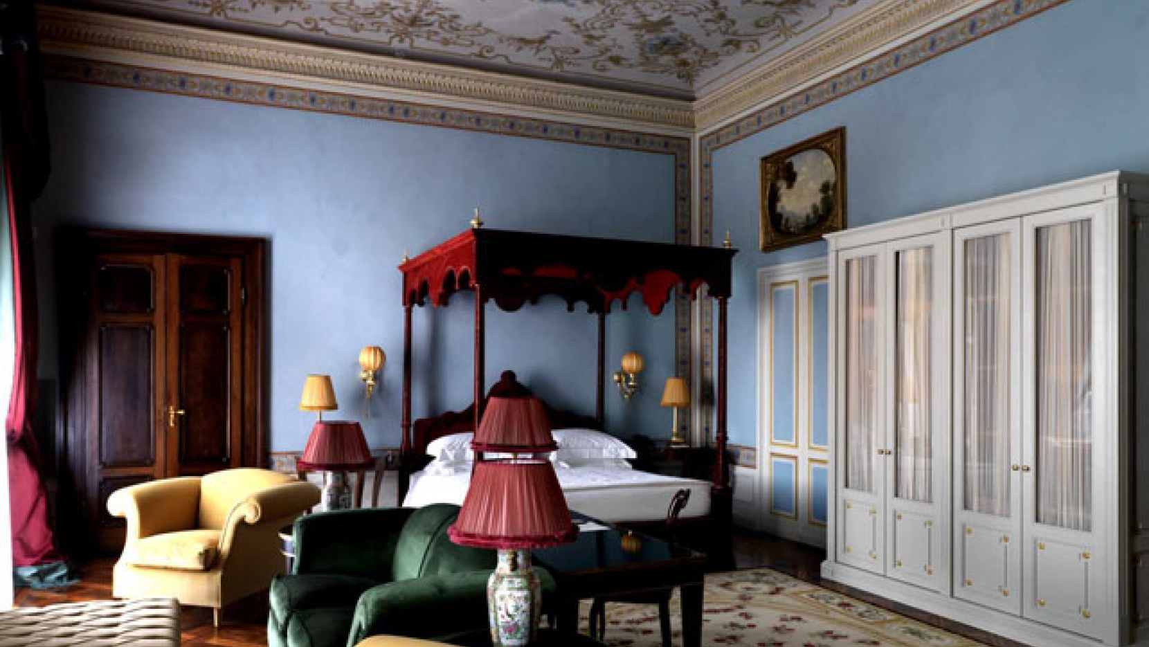 Grand hotel villa cora in florence italy yatzer for Hotel design florence
