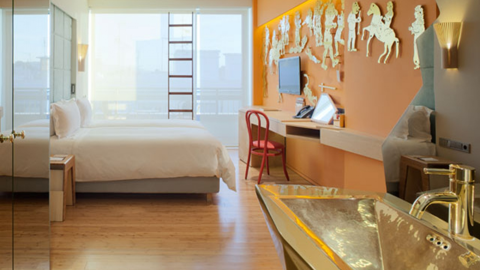 The new hotel by the campana brothers in athens greece for Design hotel athen