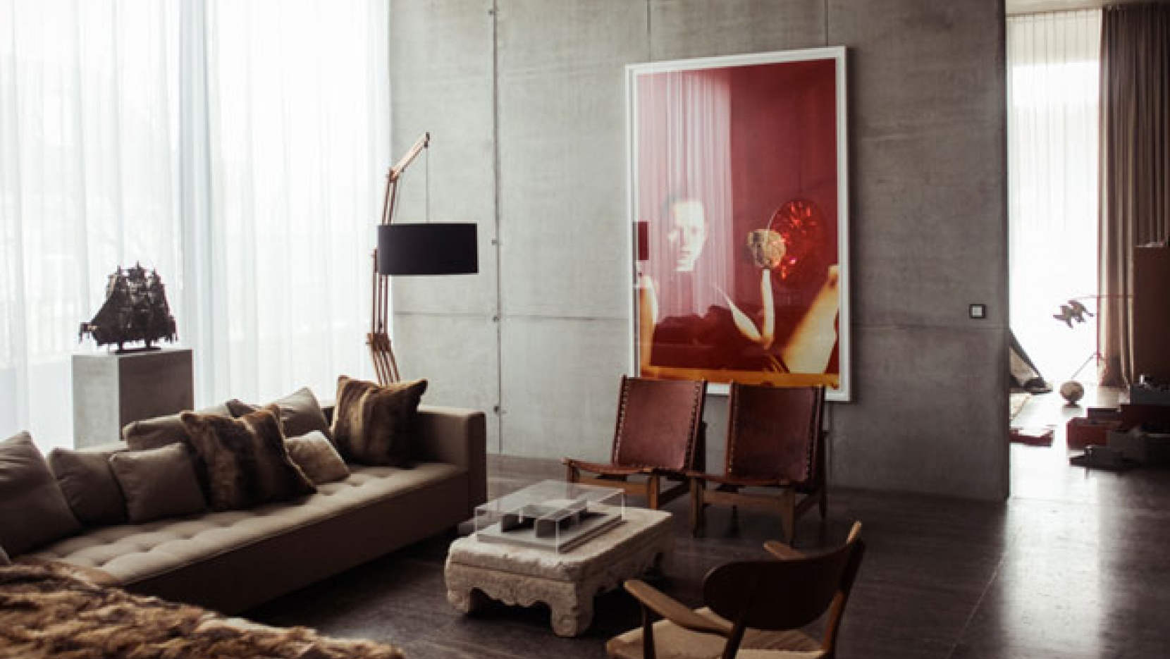 Art meets ARTchitecture In The Penthouse Of Christian And Karen ...