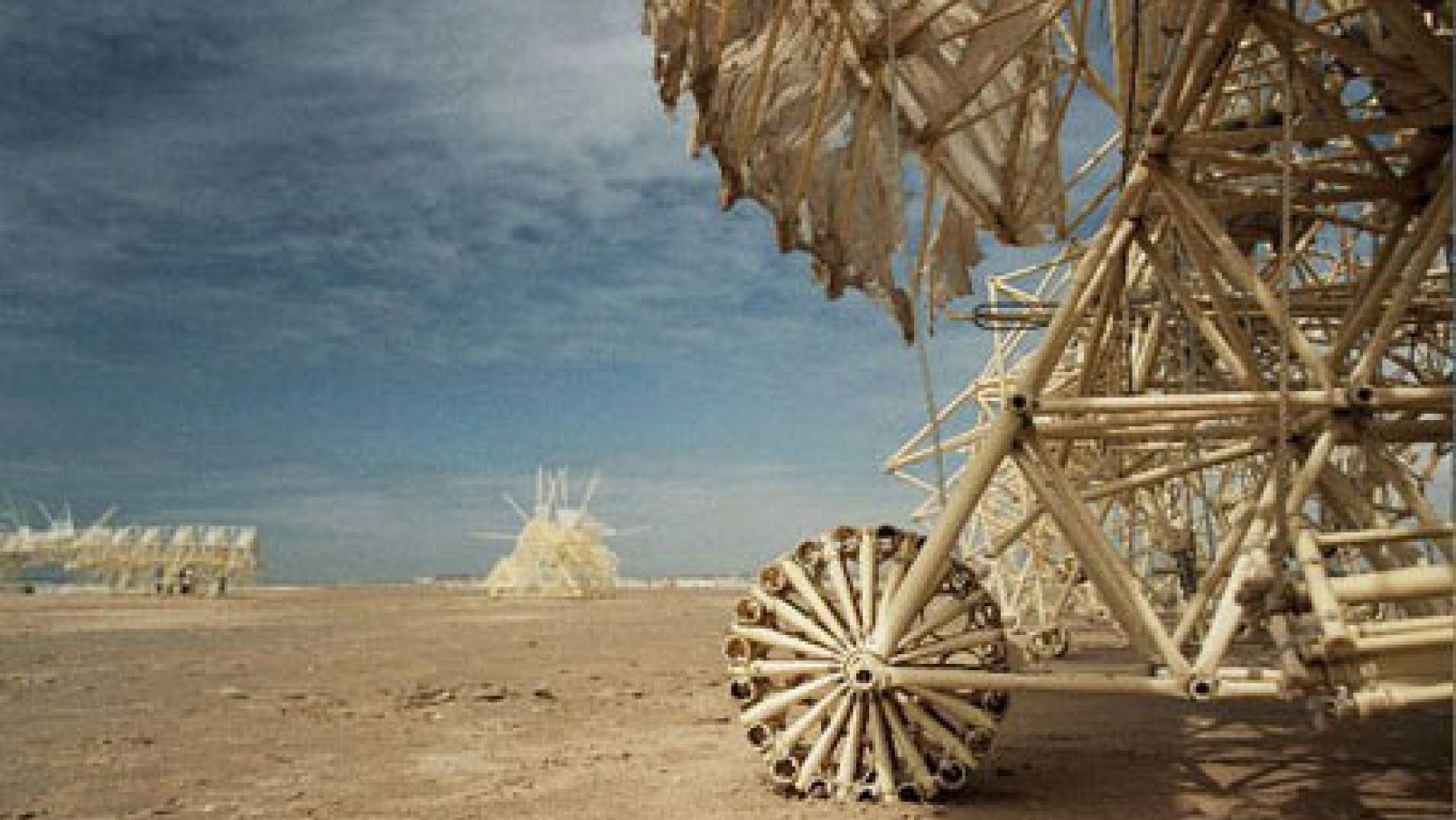 theo jansen  the kinetic sculptor