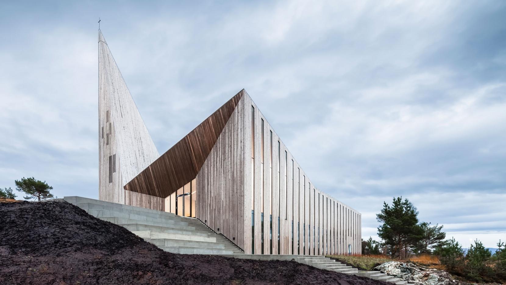Knarvik Church A Futuristic Interpretation Of The Traditional