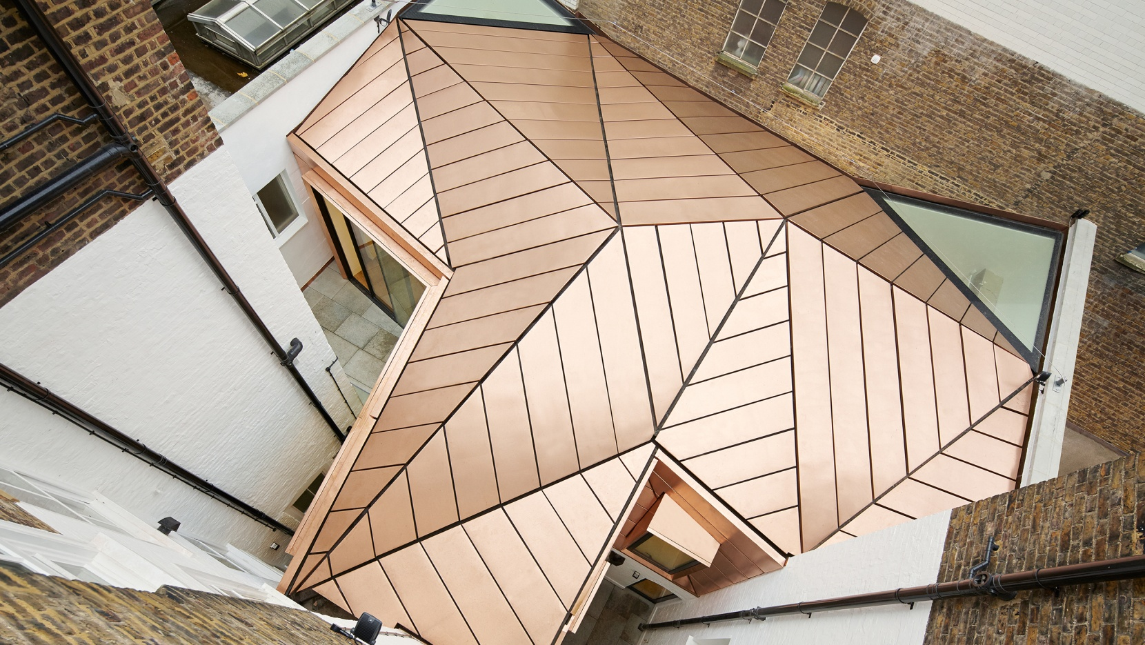 When A Copper Roof Steals The Show In A Working Environment... | Yatzer