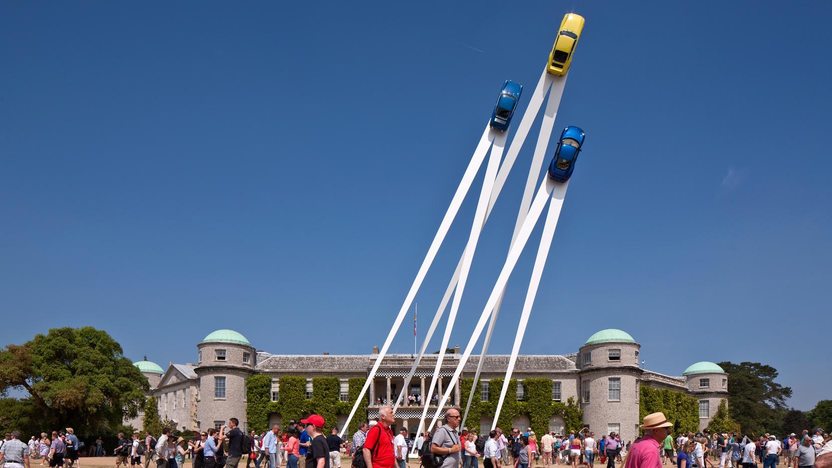 Porsche Sculpture By Gerry Judah Reaches New Heights Yatzer