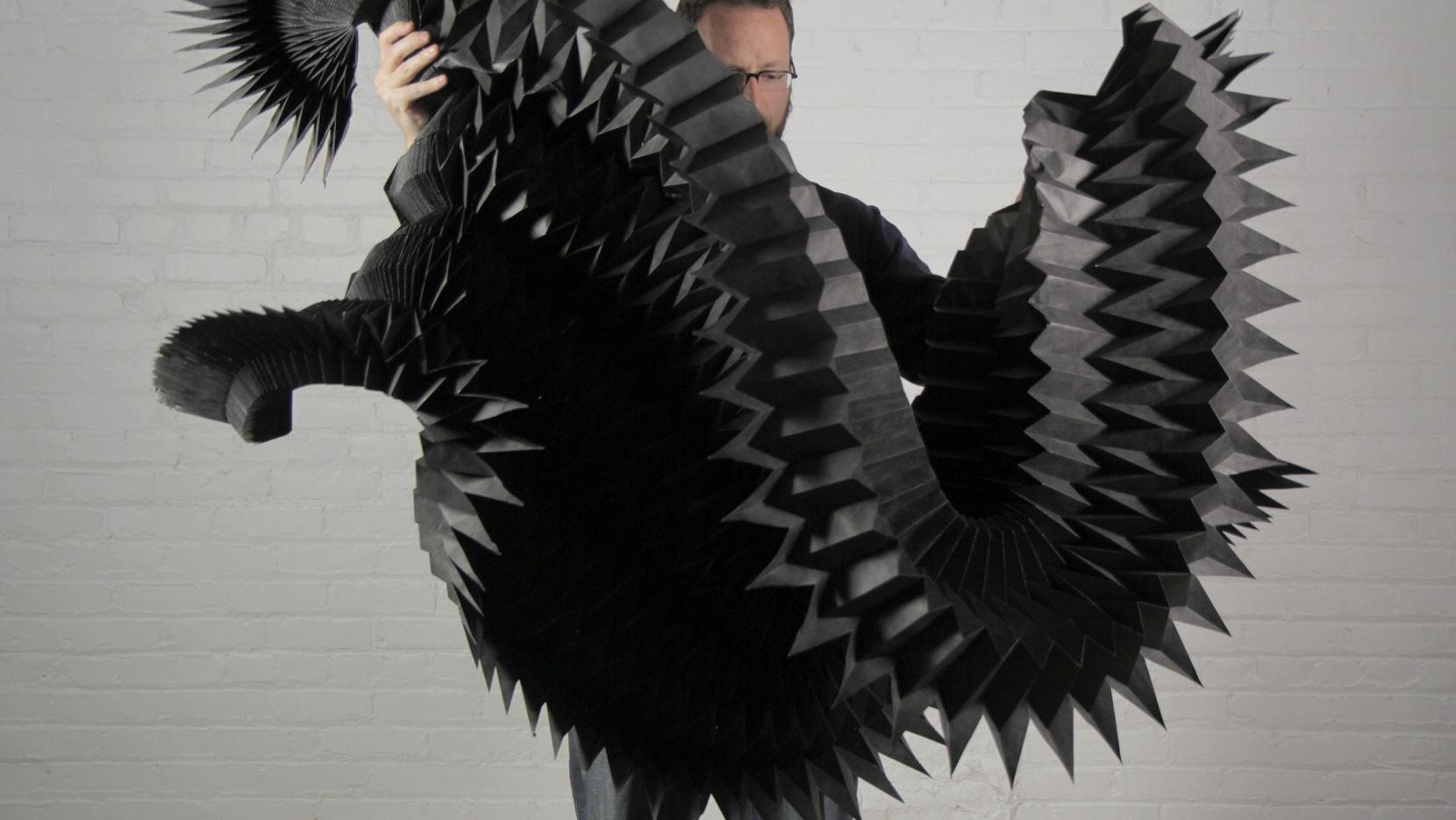 Matt Shlian The Unconventional Artist And Paper Engineer