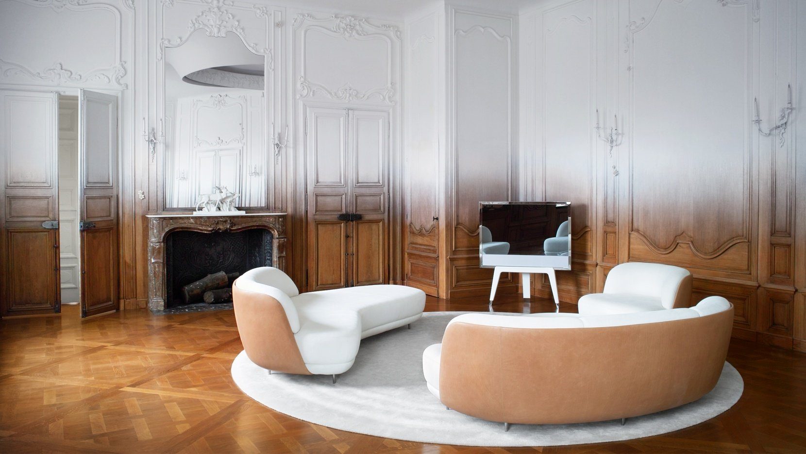 Fading history ramy fischler transforms an art deco for Deco in paris