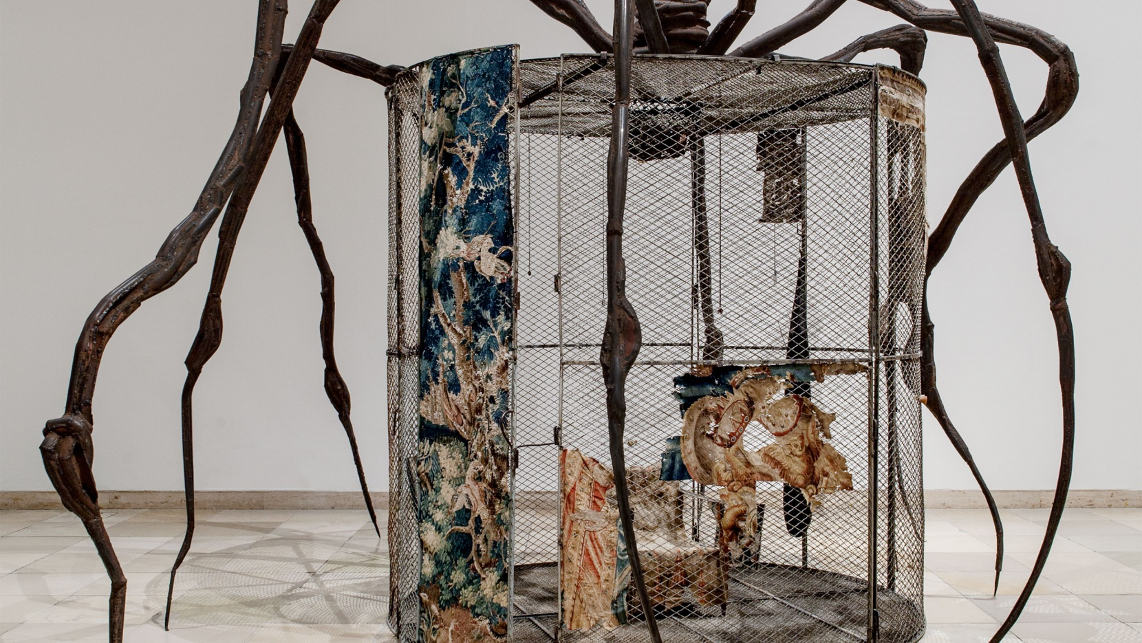 louise bourgeois  structures of existence  the cells