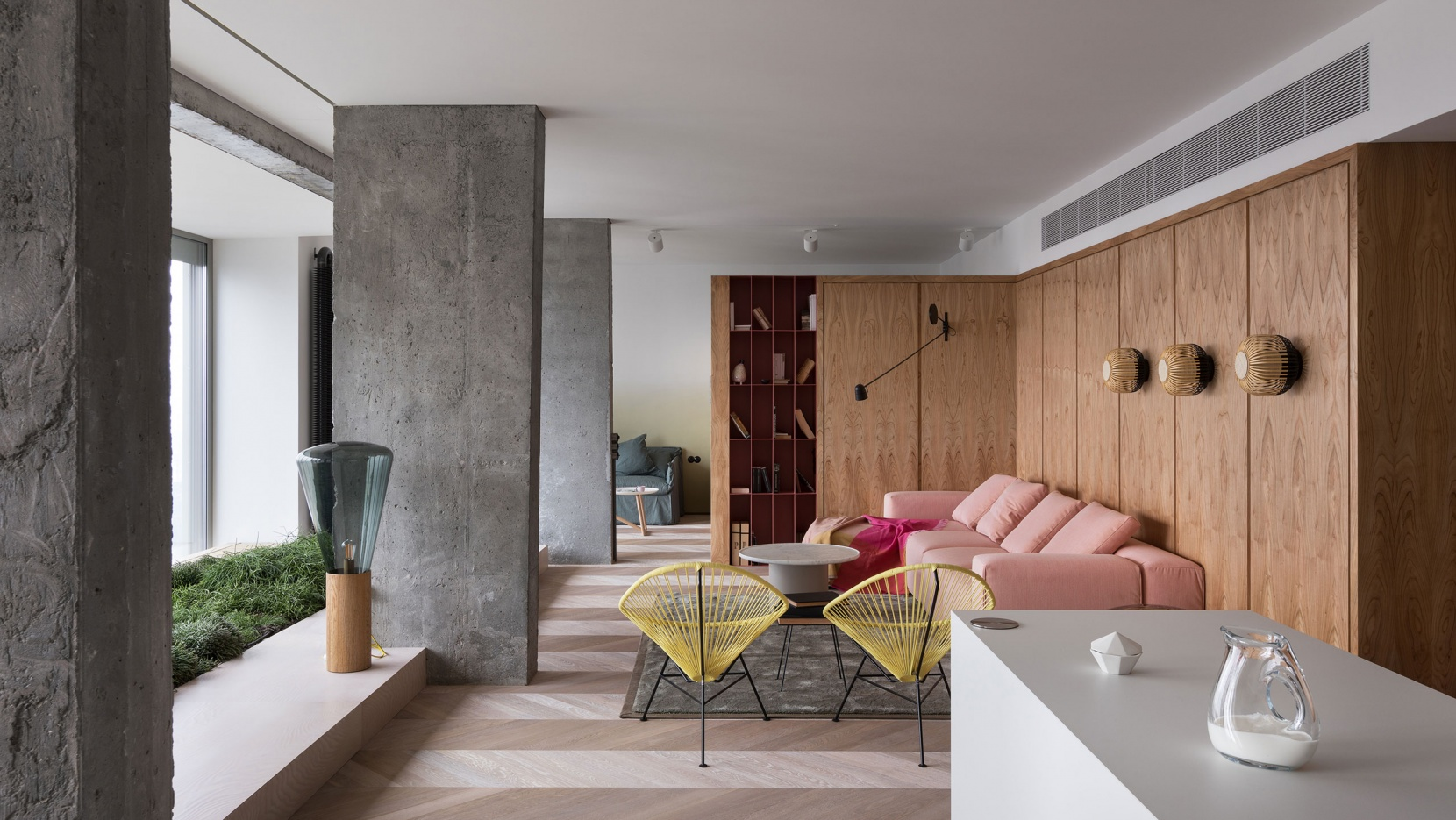 An Apartment Of Poetic Modernism In Kiev Ukraine Yatzer