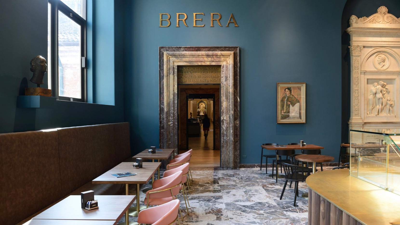 Caff 232 Fernanda Echos The Magnificent Renovation Of Milan S