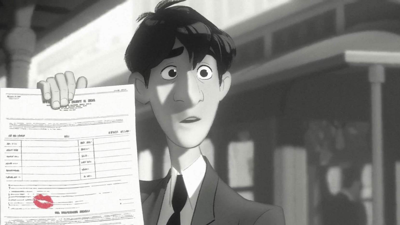 Disney's 'Paperman' : 2013 Academy Award Winner For Best
