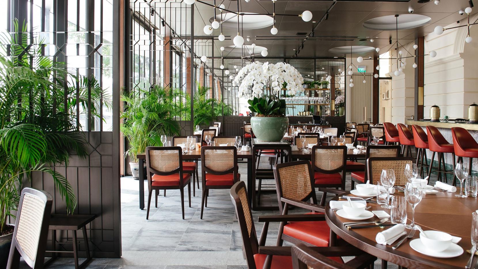 Designed to impress empress restaurant at singapore 39 s for Asian cuisine singapore
