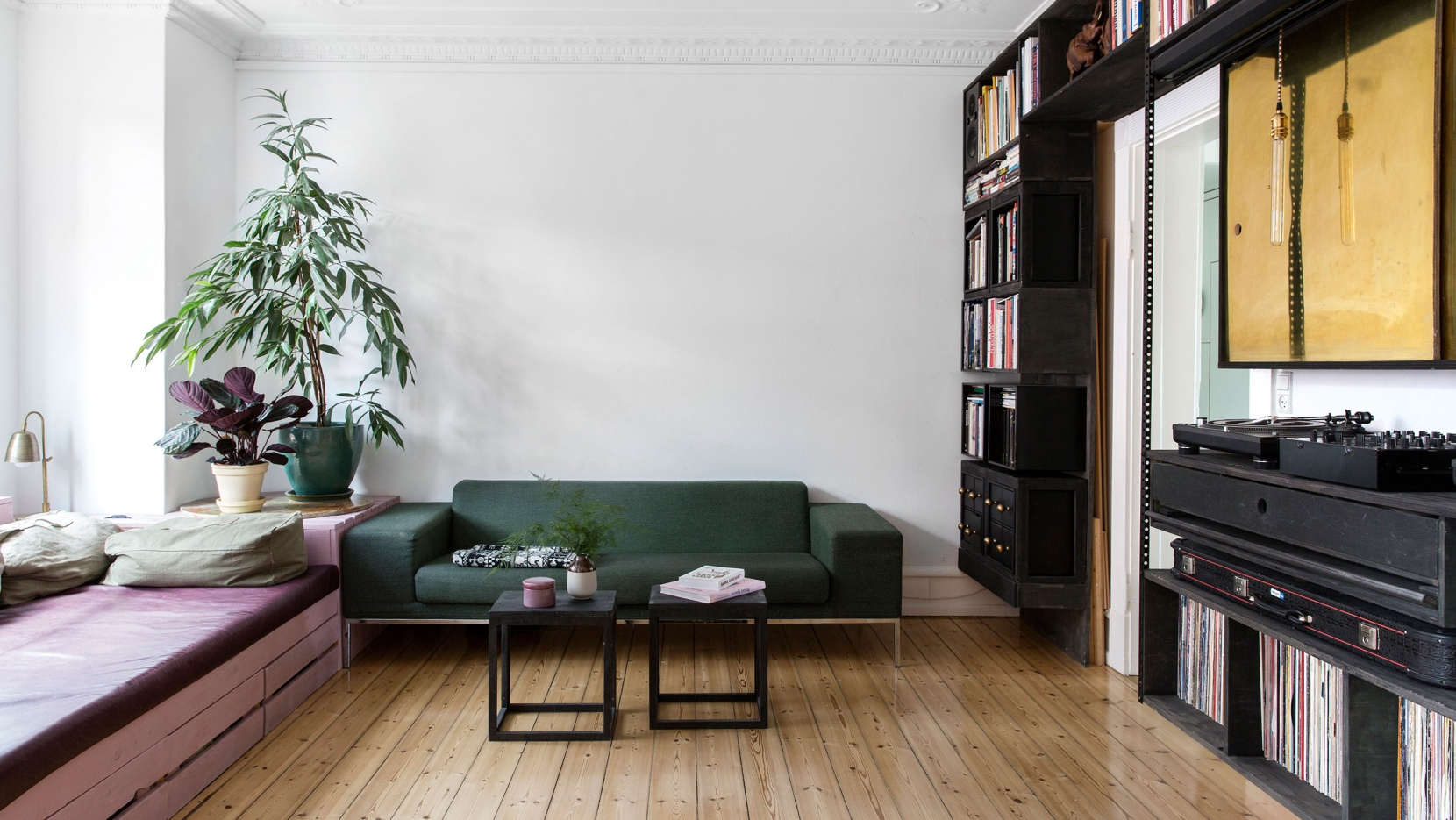 Big solutions for a modest space in a copenhagen apartment by spacon x yatzer