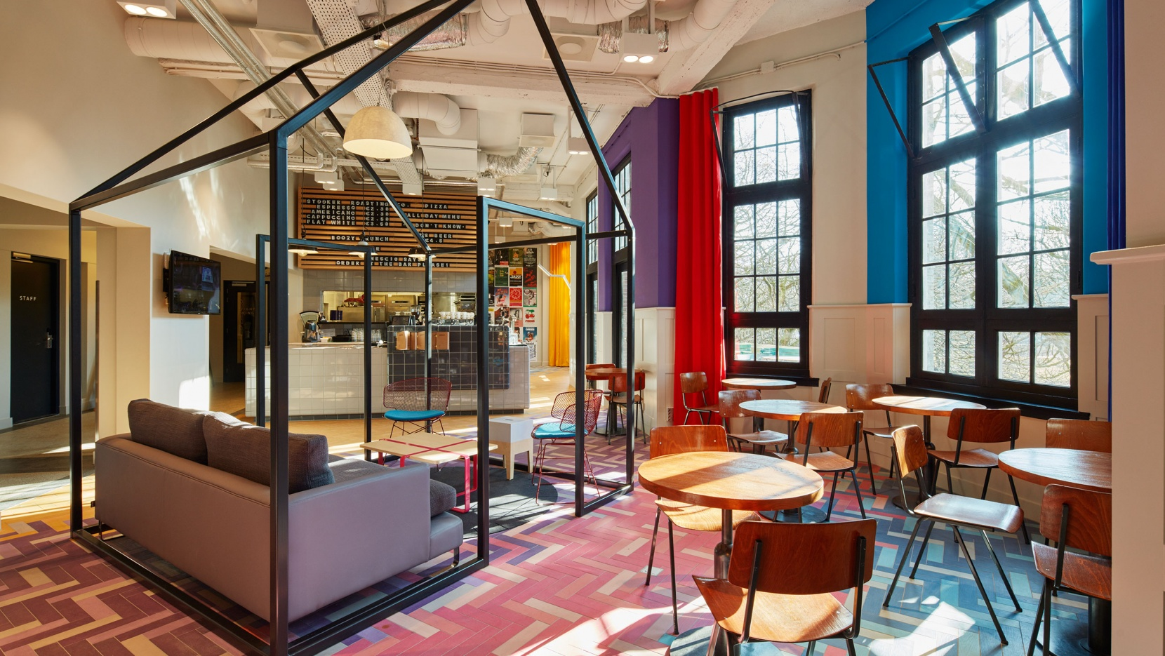 Generator hostel amsterdam brings dutch art to oosterpark yatzer for Interior design name generator