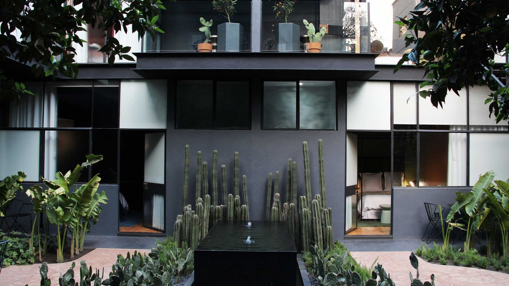 Accommodating Design: The Ignacia Guest House In Mexico City | Yatzer