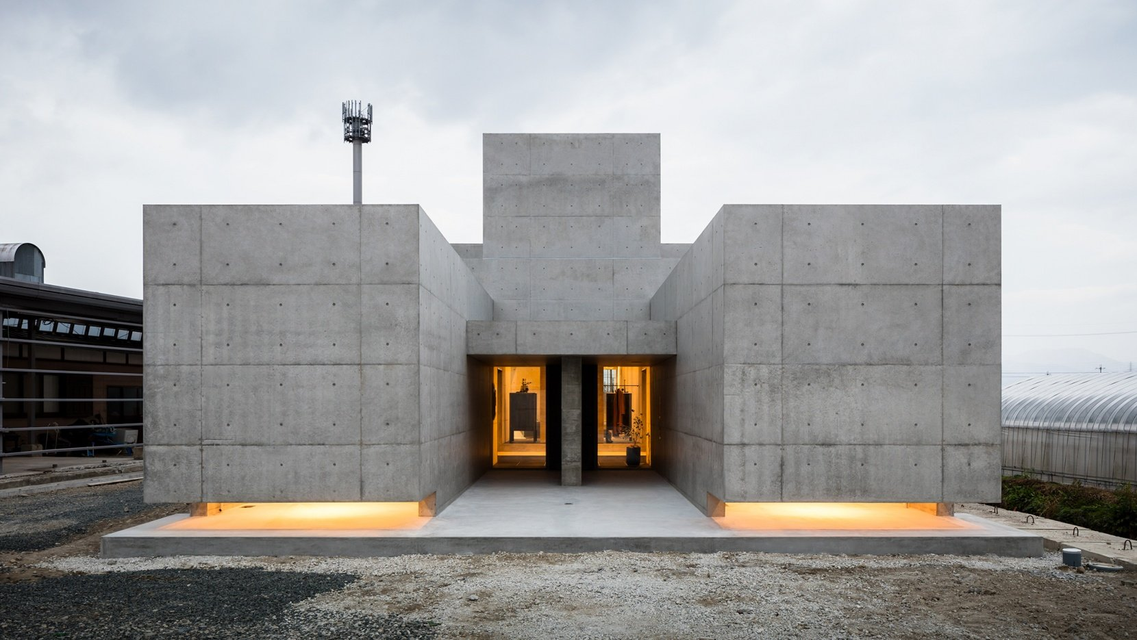 Tranquil House: A Brutalist Tour de Force in Suburban Japan