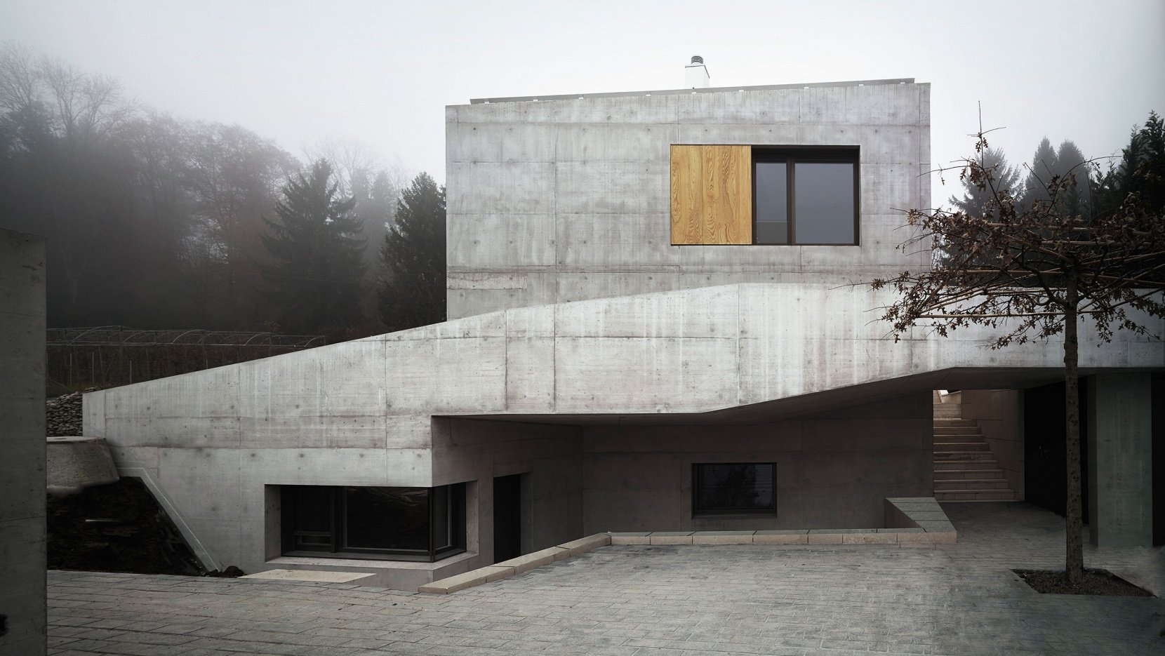 Villa ensemble near zurich switzerland by afgh architects for Villa architect
