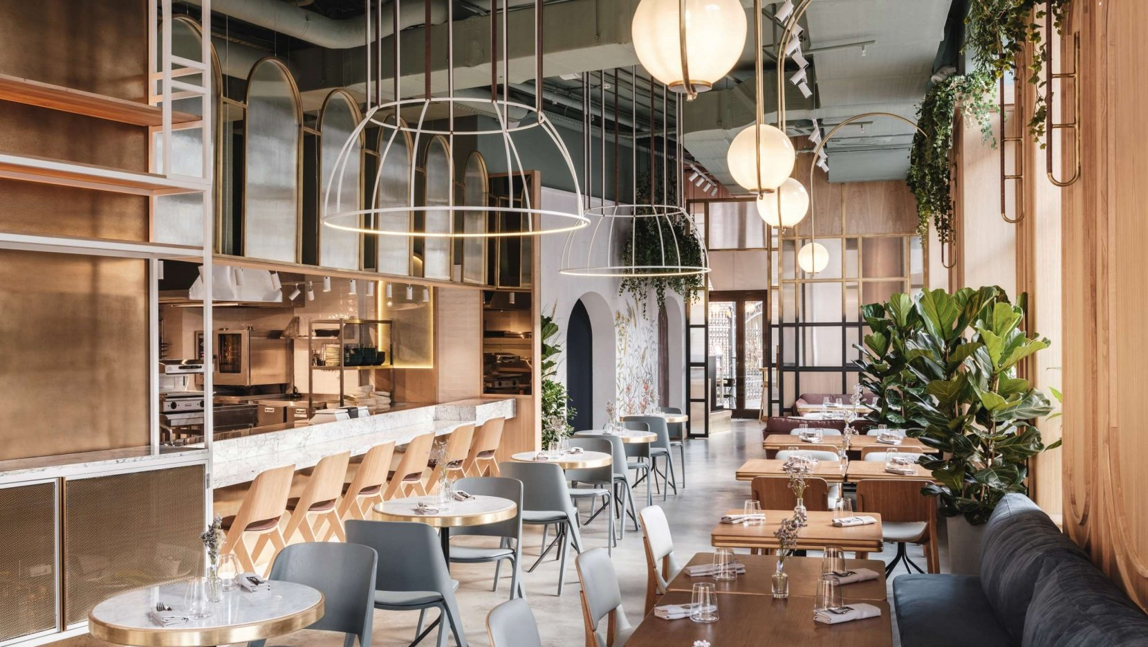 Moscow S The Y Restaurant Embraces Millennials In