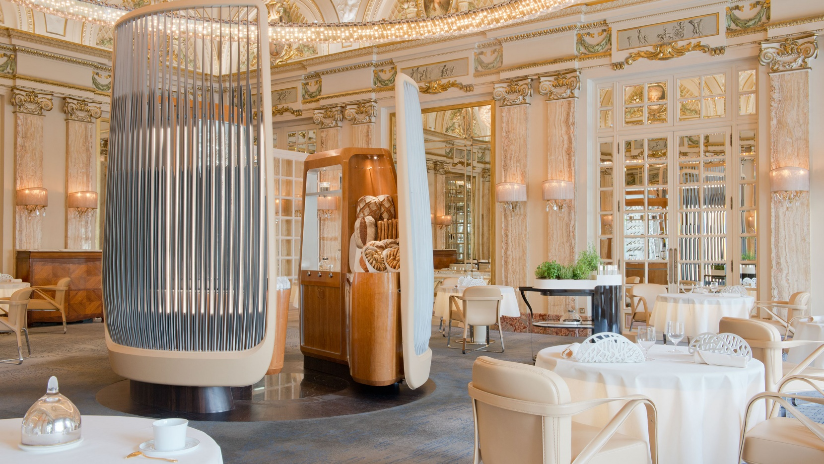 A new belle epoque for alain ducasse at the h tel de paris for Hotel design original paris