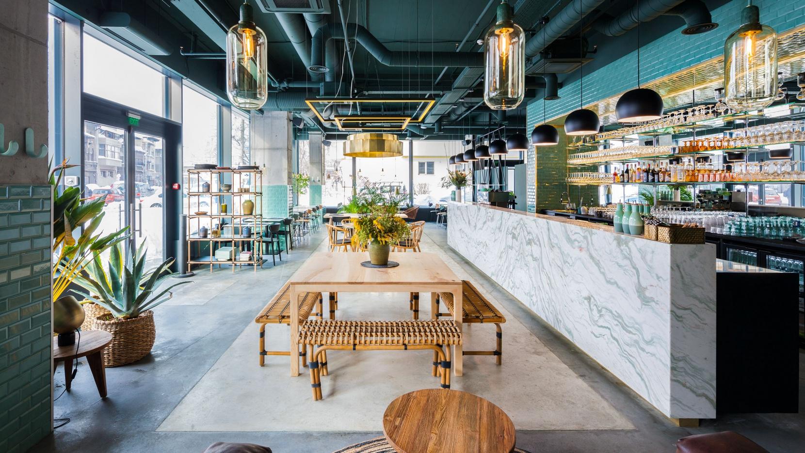 Urban Jungle On A Plate At Kane World Food Studio
