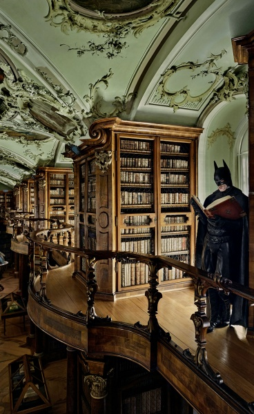 Batman Takes Some Time Off in Sebastian Magnani's Whimsical Photographic Series