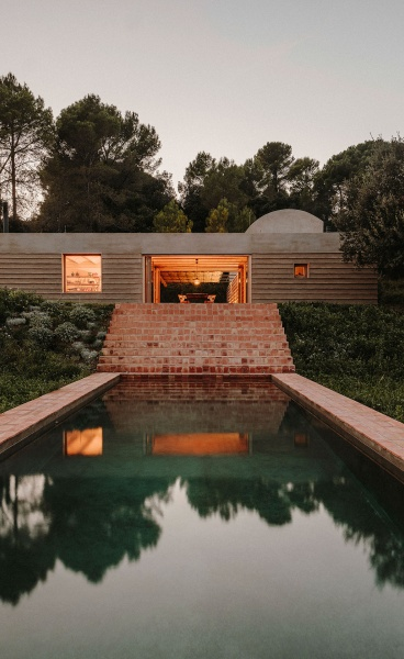Casa Ter: A Vernacular-Inspired House in Spain Celebrates the Tactile Beauty of Catalan Craftsmanship