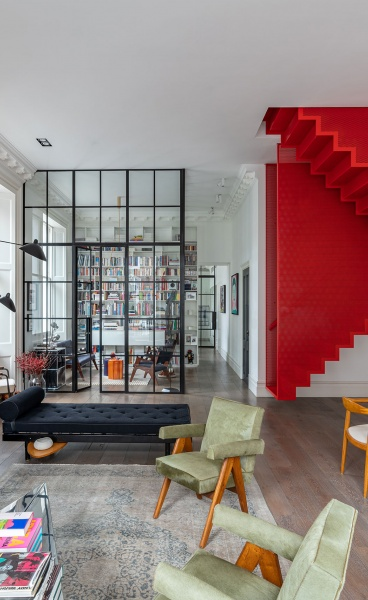 Michaelis Boyd Revamps a Georgian London home with Art-Inflected Playfulness