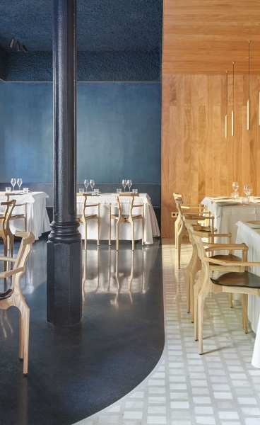 MESURA Imbues Barcelona's Emblematic Cheriff Restaurant with Handcrafted Sophistication