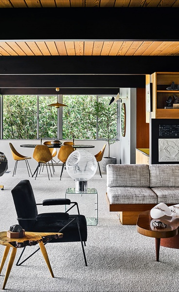 Hailey House: Anthony Barsoumian Revamps a Richard Neutra Gem in Los Angeles with Eclectic Gusto