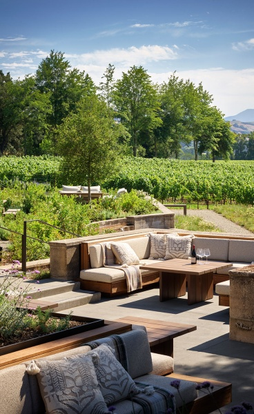 Flowers Winery in California Embraces Nature with Restrained Elegance