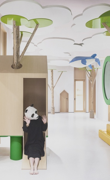CUN PANDA Designs a Kindergarten in China as an Enchanted Forest