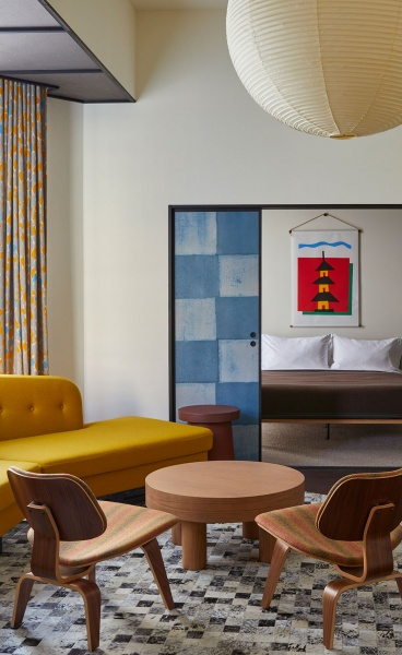 East Meets West in the Handcrafted Playfulness of Ace Hotel Kyoto