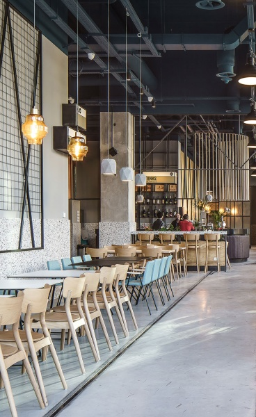 Bucharest Restaurant Celebrates its Industrial Heritage in Urban Hipness