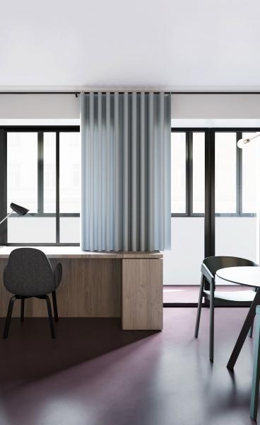 A Studio Apartment of Minimalist Sophistication in Minsk