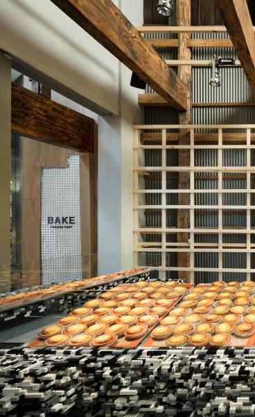 Brick in Japan: Yusuke Seki Fills Kyoto Bakery with Millions of Lego Bricks